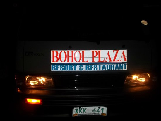 Bohol Plaza Resort: Free transfer