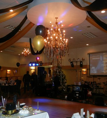 Ramada Cortland Hotel and Conference Center: Ballroom New Years 2013