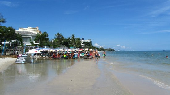 The Sea-Cret, Hua Hin: beach