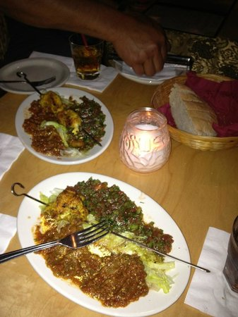 Marrakech Magic Theater: Chicken Shish Kabob
