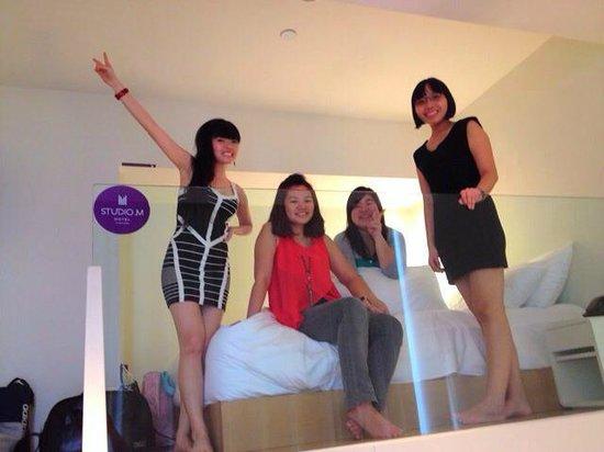โรงแรมสตูดิโอเอ็ม: Premier loft bed