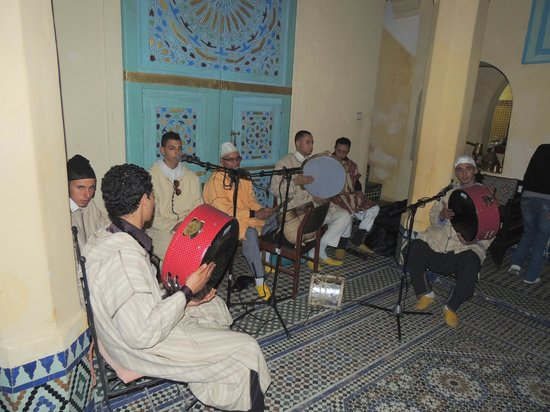 Riad Amazigh Meknes: And the band played on at the Riad Amazigh New Year 2013 party