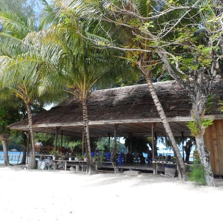 Fadhila Cottages: The restaurant