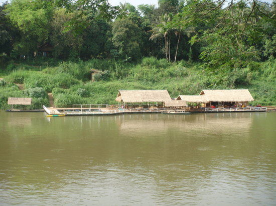 ‪‪Rivertime Resort and Ecolodge‬: Floating Restaurant‬