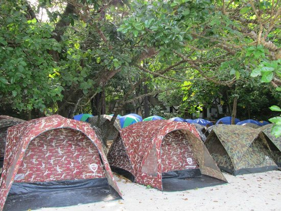 Mu Ko Surin National Park: Camping ground (Ao Chong Kaad)