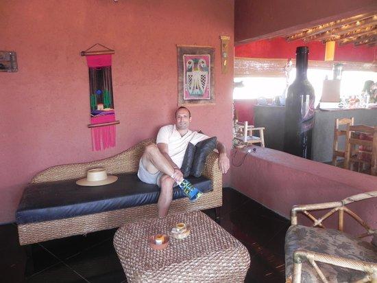 Hotel Pukarainca: el lobby muy bien decorado.