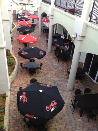 Zappi's Italian Garden Restaurant and Vacation Villas: Zappi's View From Suite 307