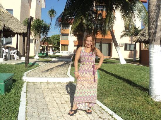 Grand Royal Lagoon : Mi esposa
