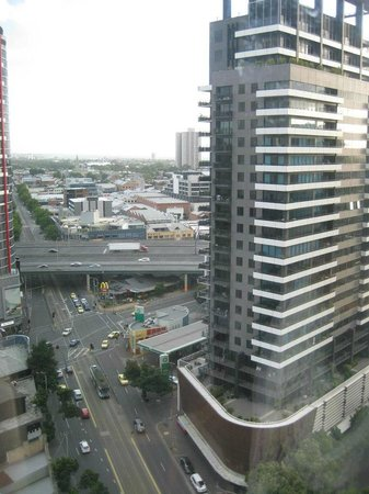 Crown Metropol Melbourne: View from our 19th floor room