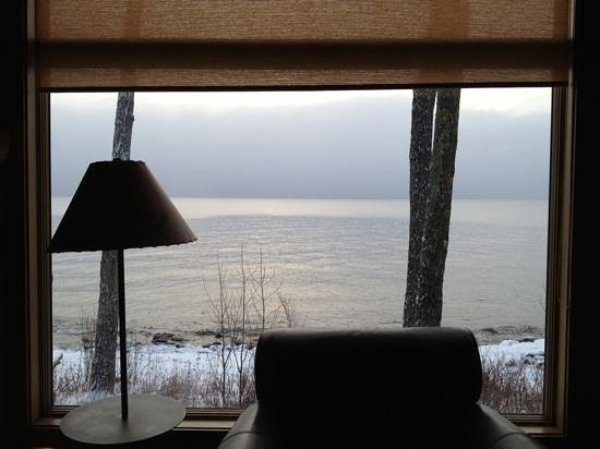 Grand Superior Lodge: view from the cabin