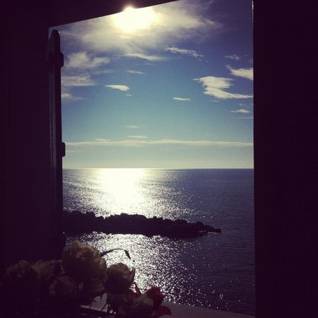 La Scogliera: View from the room window