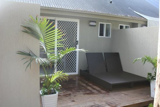 Nelson Bay Bed and Breakfast: Broughton Balcony Area
