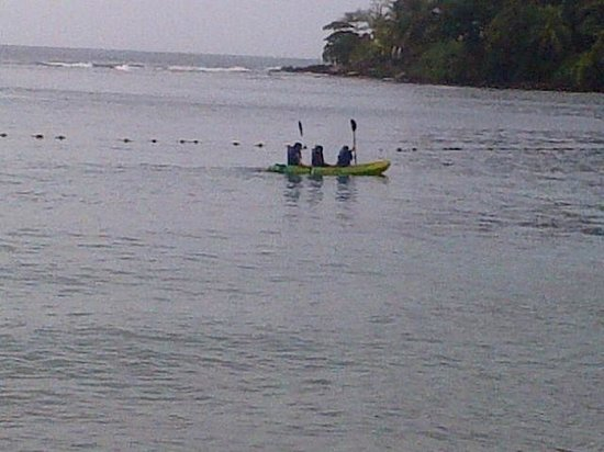 Coco Plum: kayaking in the area