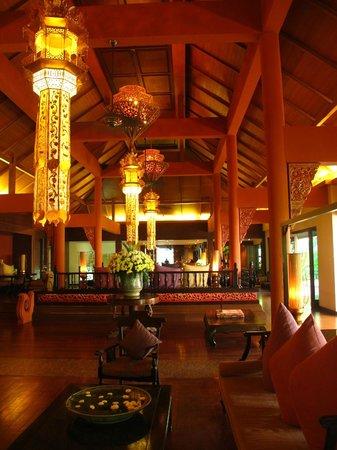 Siripanna Villa Resort and Spa Chiang Mai: Hotel Lobby