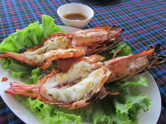 Palai Seafood: Grilled shrimp