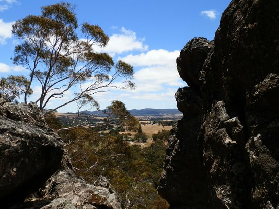 Hanging Rock Reserve: Macedon view