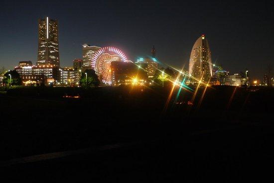 横浜 みなとみらい 21, みなとみらいの夜景