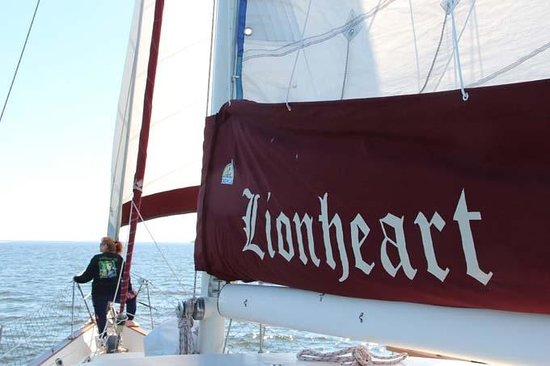 Olde World Sailing Line: A relaxing moment to remember . . .