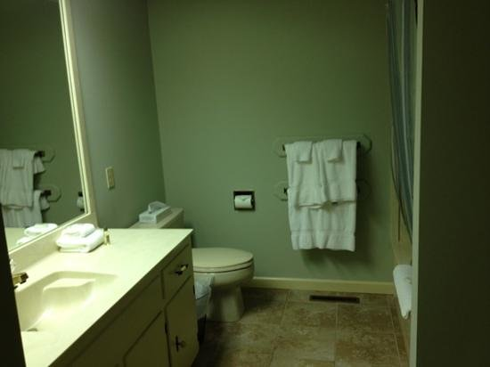Red Apple Inn and Country Club: bathroom #1