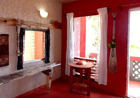 Sin Duda Villas : #4 Ocean Room -- double (with full kitchen access)