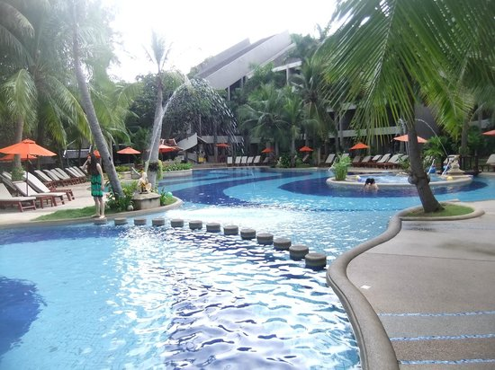 สยาม เบย์ชอร์ : Hotel & Grounds Viw From Room, Family/Play / areas & Pool