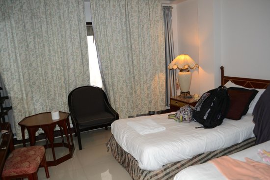 Diamond City Hotel: standard room with 2 single bed