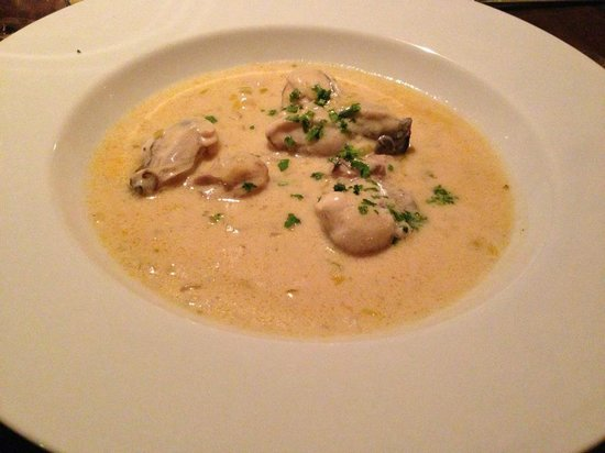 Ona Restaurant and Lounge - TEMPORARILY CLOSED: Oyster Stew. Was not on the menu we chose but my request was happily filled. Best Oyster Stew e
