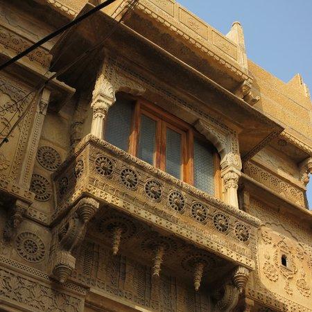 beautiful balcony on the main facade