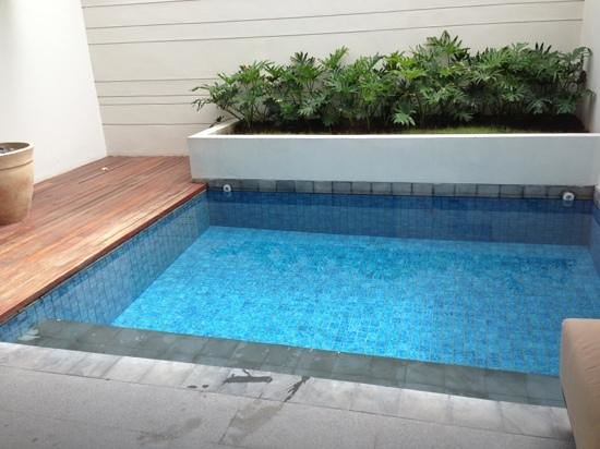 The Magani Hotel and Spa: private pool