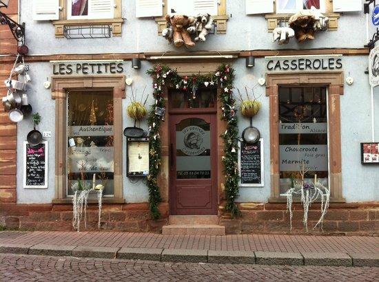 Les Petites Casseroles : le Restaurant