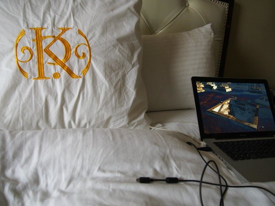 The Kensington Park Hotel: Comfy bedding