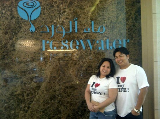 a date with my husband at Rosewater Restaurant