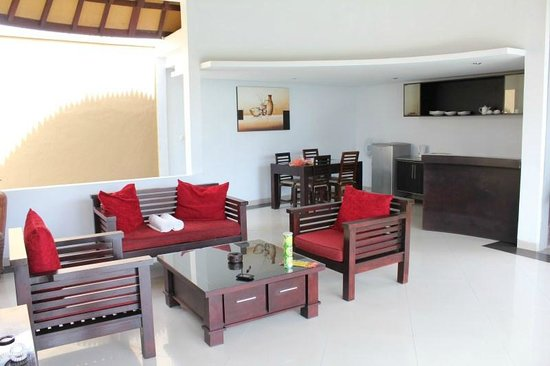 The Bidadari Villas and Spa : Living Area