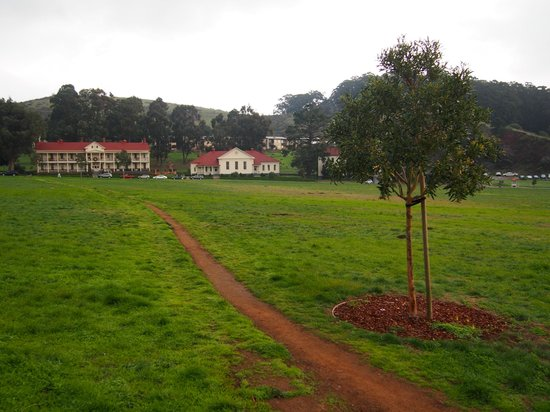 Cavallo Point: View of the main buildings