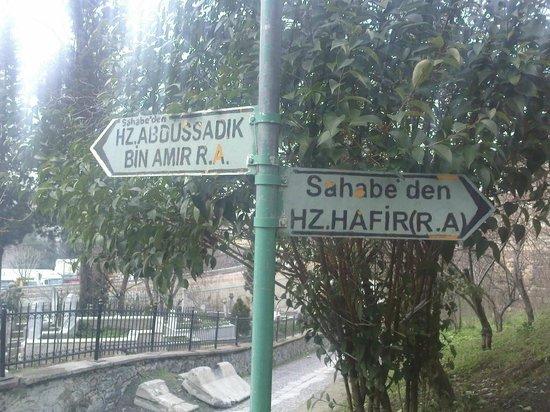 Islamic Religious Sahabe Day Tours: Sahabe Hz. Hafir Tomb ( R.A )