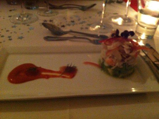 Fleurs Restaurant: Spanner crab tian