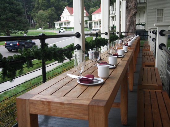 Cavallo Point: Breakfast table setting