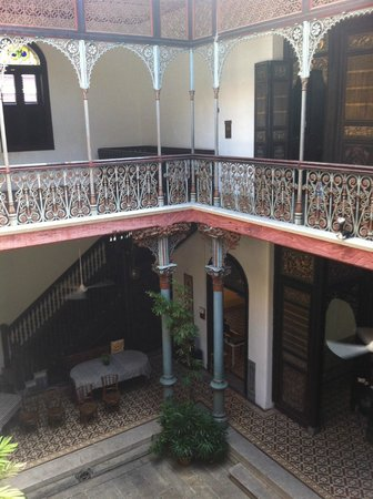 Cheong Fatt Tze - The Blue Mansion: from the 2nd level