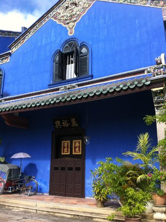 Cheong Fatt Tze - The Blue Mansion: blue you say?