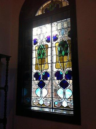 Cheong Fatt Tze - The Blue Mansion: stain glass windows