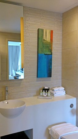 Park Avenue Rochester Hotel: Spacious bathroom