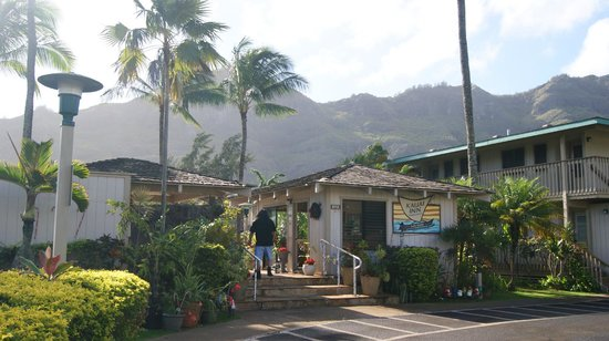 The Kauai Inn: entrance to Kauai Inn