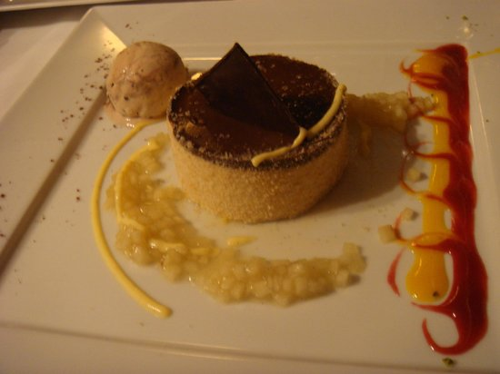 Hotel Restaurant Zur Krone: Dessertkreation