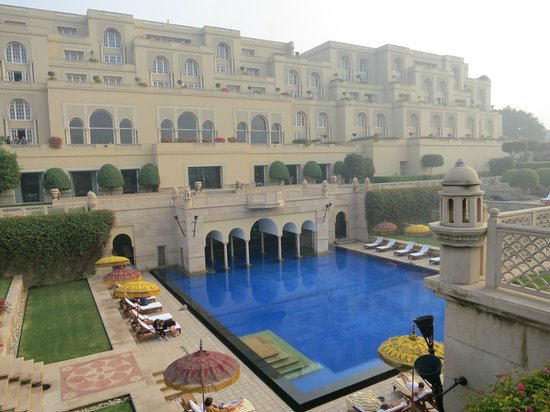 The Oberoi Amarvilas: View of the hotel complex