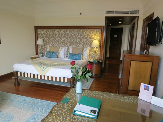 The Oberoi Amarvilas: The room that I stayed in.