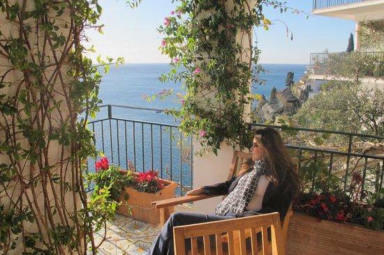 Santa Caterina Hotel: garden