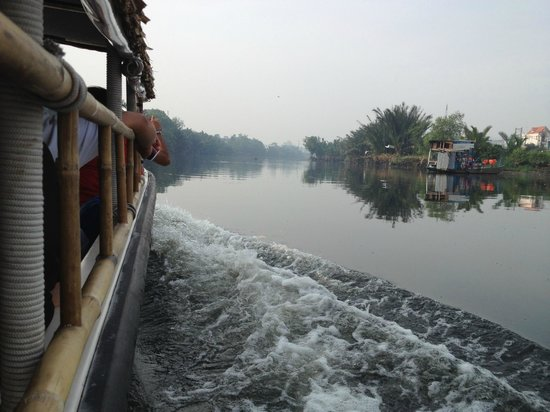 Les Rives by Saigon River Express - Day Tours: Not far outside Saigon on the river on the way to the Mekong