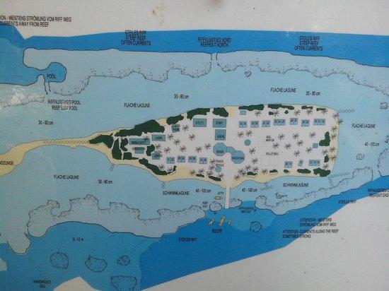 Asdu Sun Island: Mappa isola