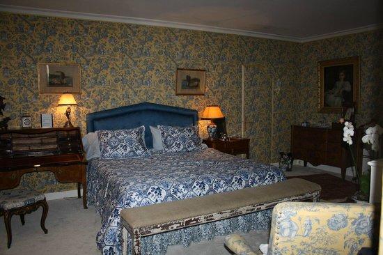 Chateau du Portail : Room