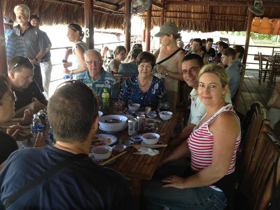 Saigon River Express: Lunch after